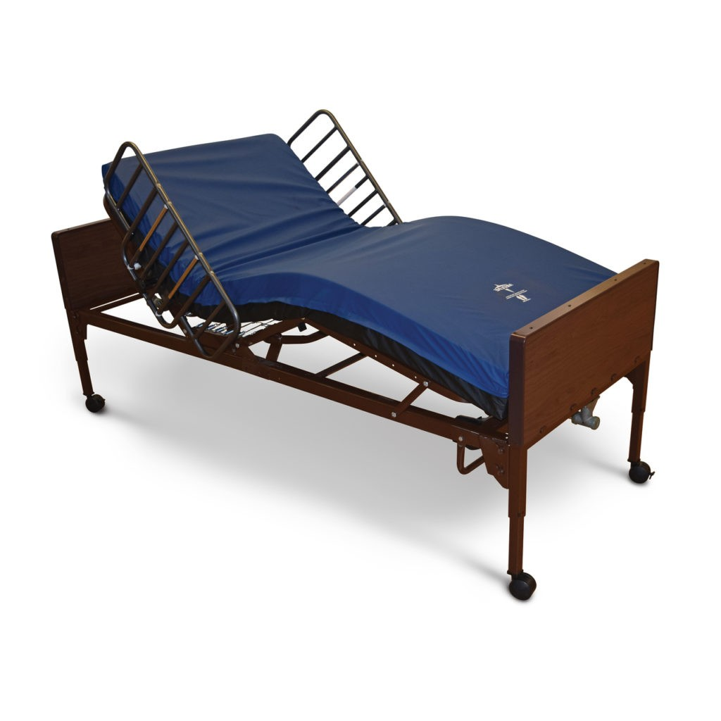 Picture of: Medline Medlite Full Electric Hospital Bed Set Homecare Hospital Beds