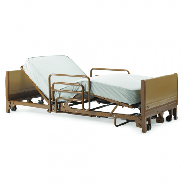 Invacare Full-Electric Low Hospital Bed Set