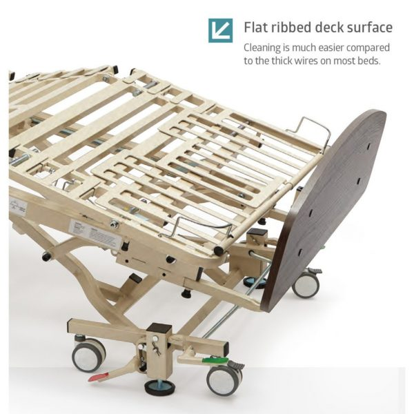 Flat Ribbed Deck Surface