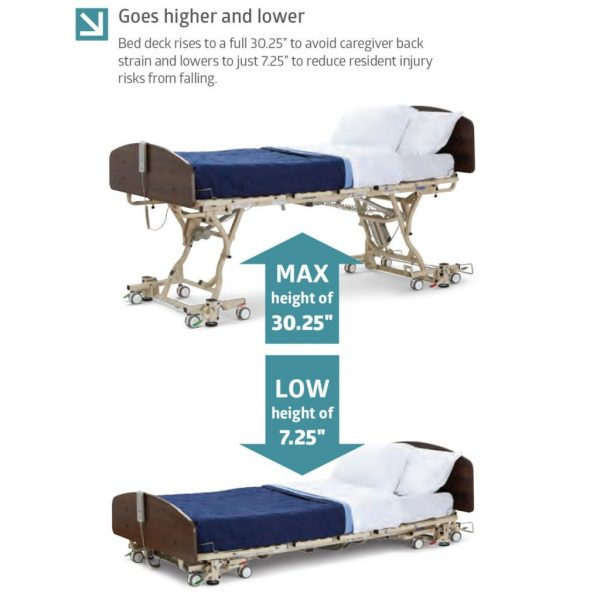 Adjustable Height Diagram
