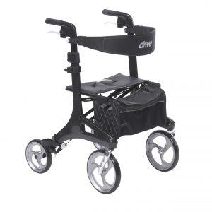 Drive Medical Nitro Elite CF Carbon Fiber Rollator Walker