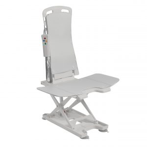 Drive Medical Bellavita Tub Chair Seat Auto Bath Lift - White