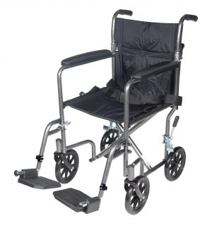 Drive Medical Steel Transport Wheelchair