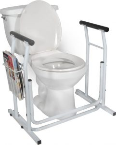 Free standing toilet safety rails - Drive Medical rtl12079