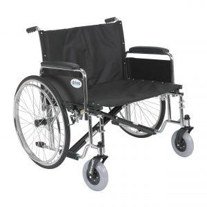 Drive Medical Sentra EC Heavy Duty Extra Wide Wheelchair-min