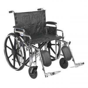 Drive Medical Sentra Extra Heavy Duty Wheelchair-min