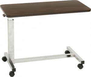 Drive Medical Low Height Overbed Table-min