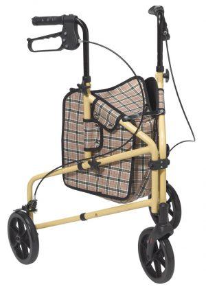 Winnie Lite Supreme/Go Lite 3 Wheel Rollator
