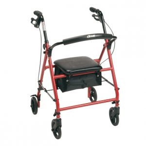 Drive Medical Knockdown Steel Rollator