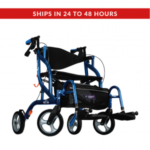 Drive Medical Airgo Fusion F20 Rollator & Transport Chair