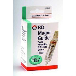 BD Magni-Guide Insulin Syringe Scale Magnifier
