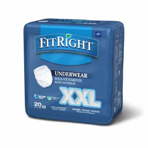 FitRight Heavy Absorbency Protective Underwear 2XL