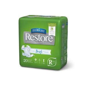 FitRight Restore Super Adult Incontinence Briefs