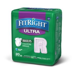 FitRight Ultra Cloth-Like Adult Incontinence Briefs