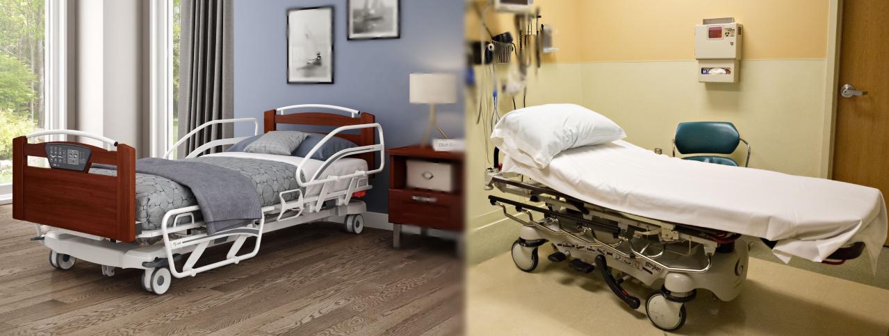 hospital beds vs home hospital beds